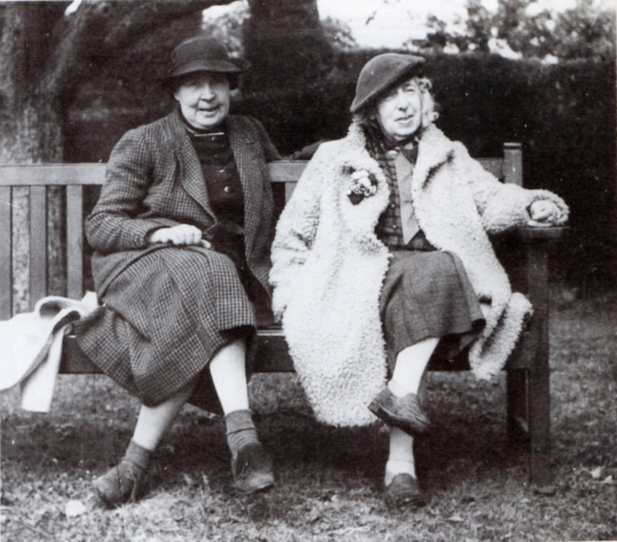 Frances Hodgkins (right) and Dorothy Selby at The Croft, 1940 McCormick,  Portrait of Frances Hodgkins , 1981.