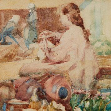 Breton Pottery c.1902