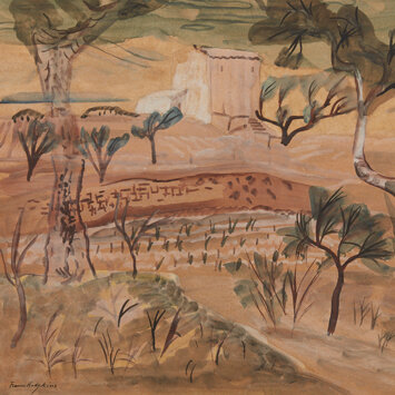 Frances Hodgkins -  A Barn in Provence c.1931