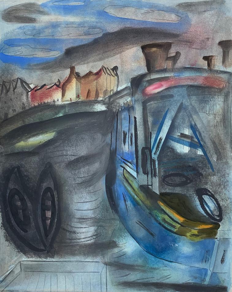Blue Barge c.1932