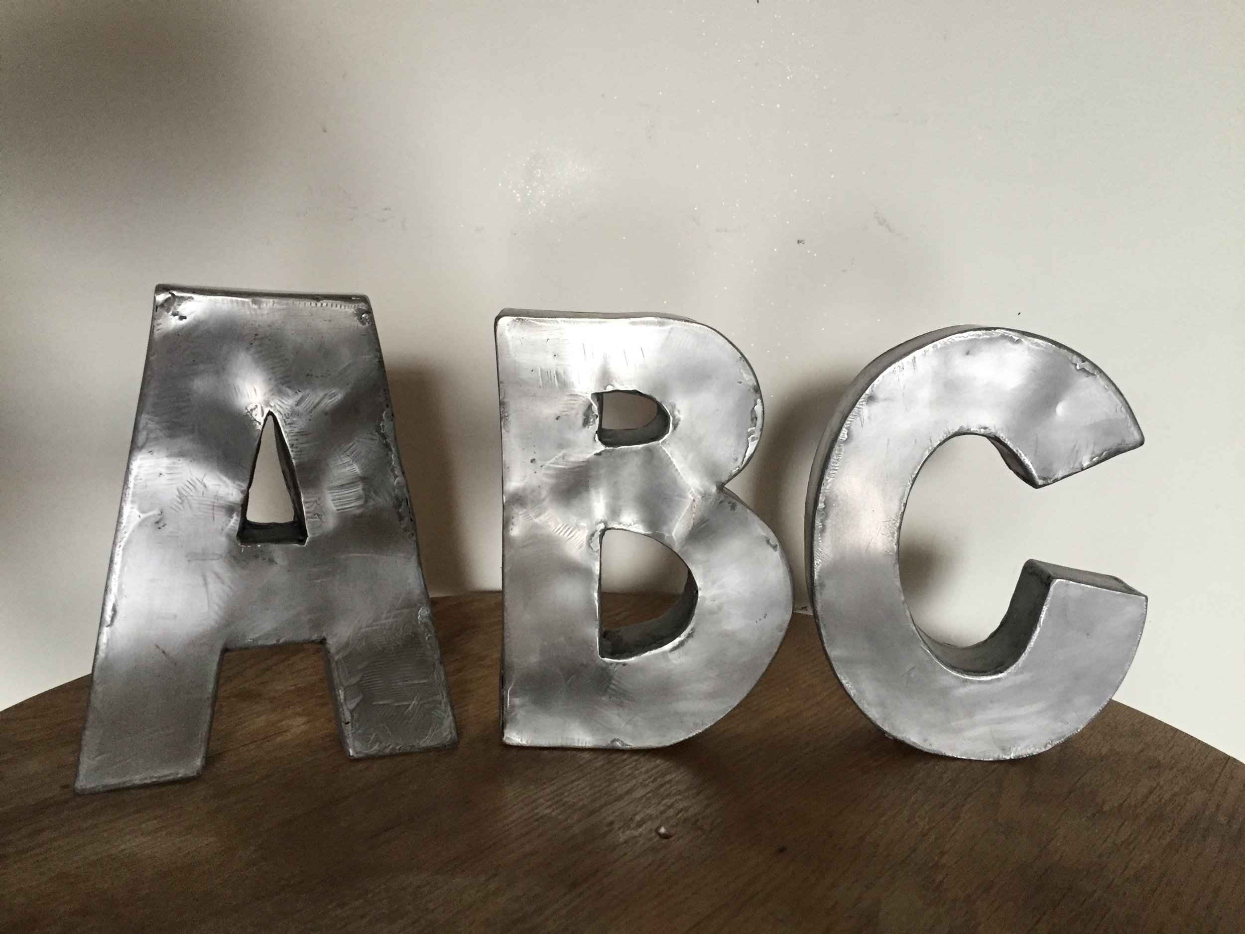 ABC, steel, beeswax