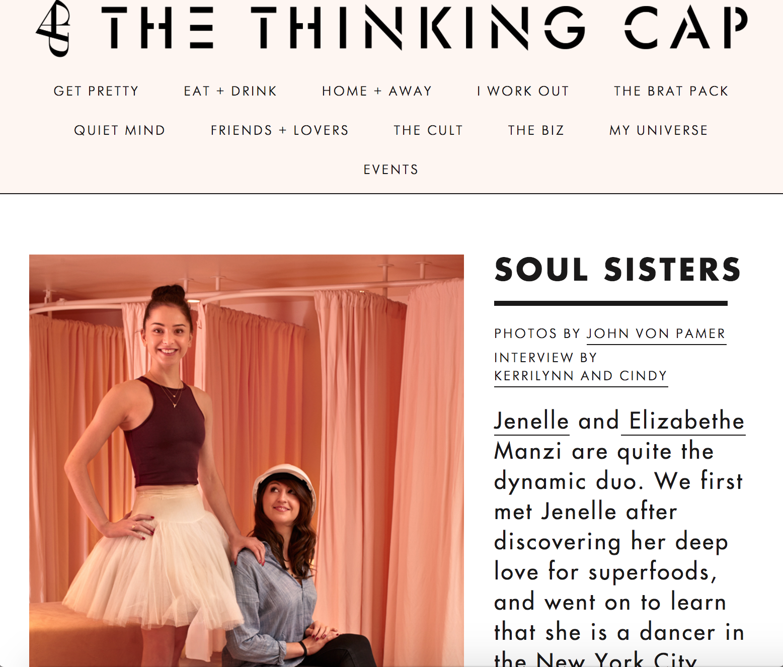 Soul Sisters - http://blog.capbeauty.com/