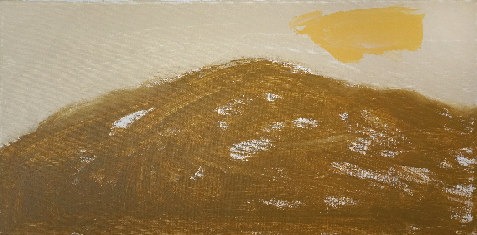 Desert03   20''x10'' Acrylic paint on Canvas