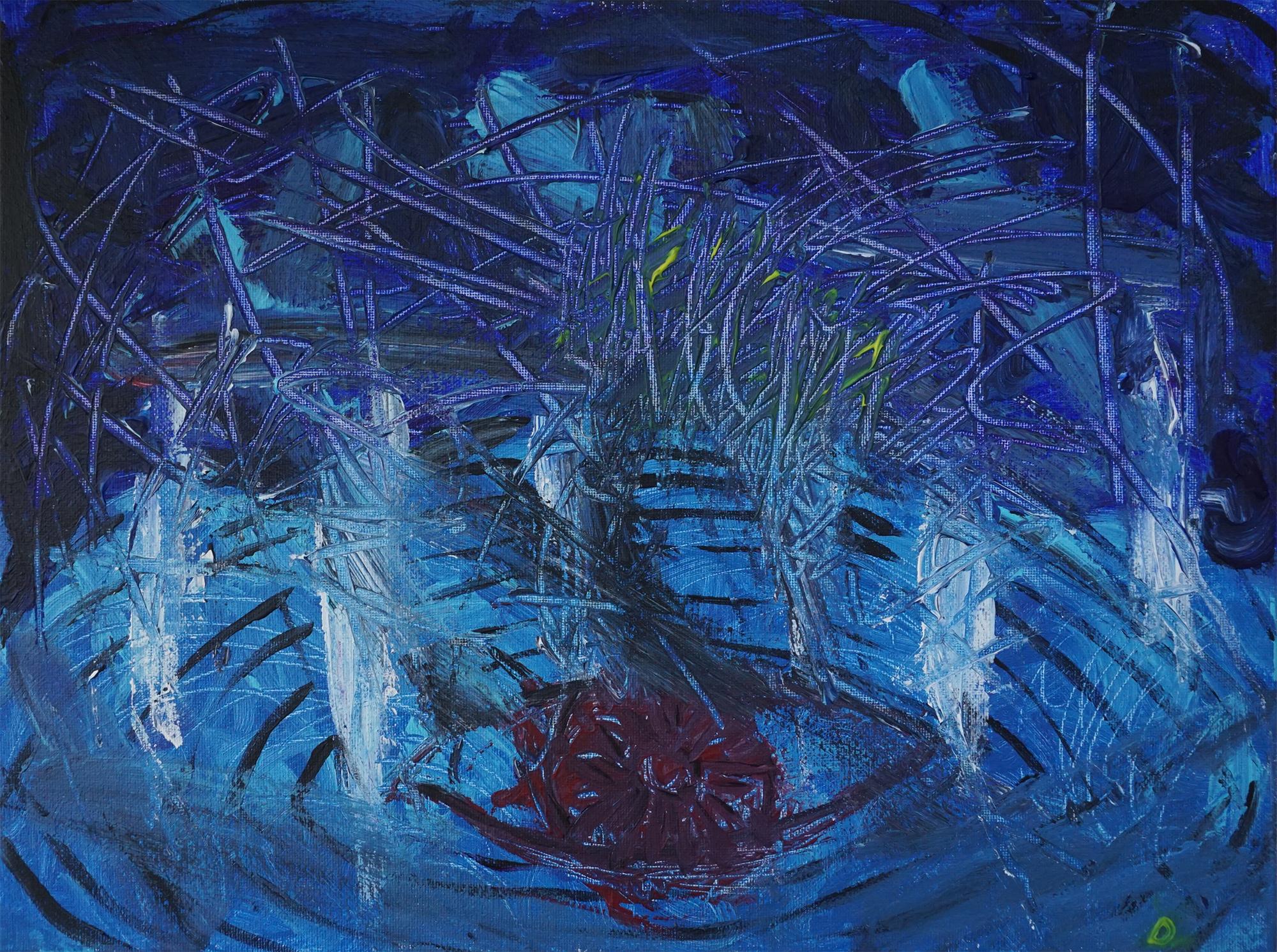 Sea 01   12''x16'' Acrylic paint on Canvas