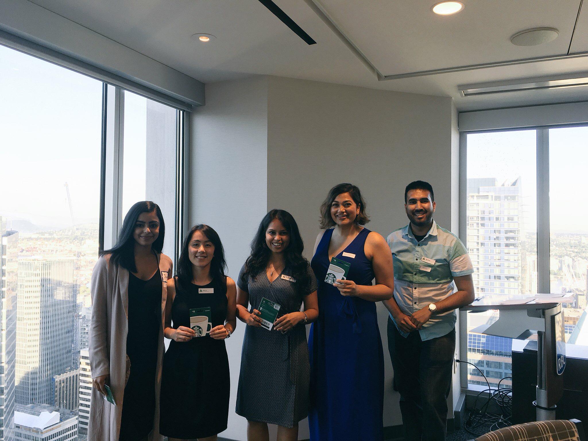 JA Alumni BC's mini-case discussion winners!