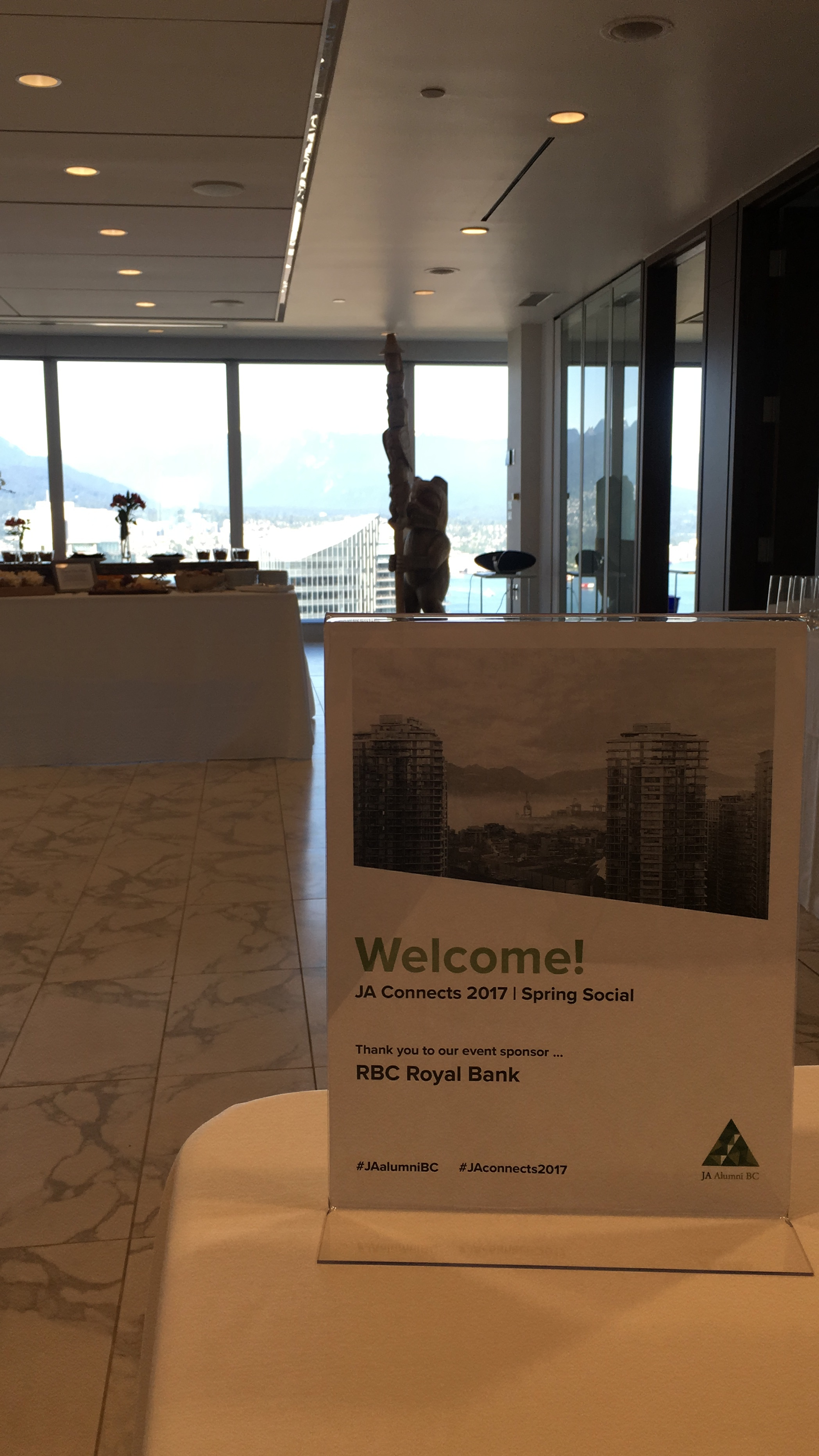 A snap shot of the 36th floor of the RBC building!