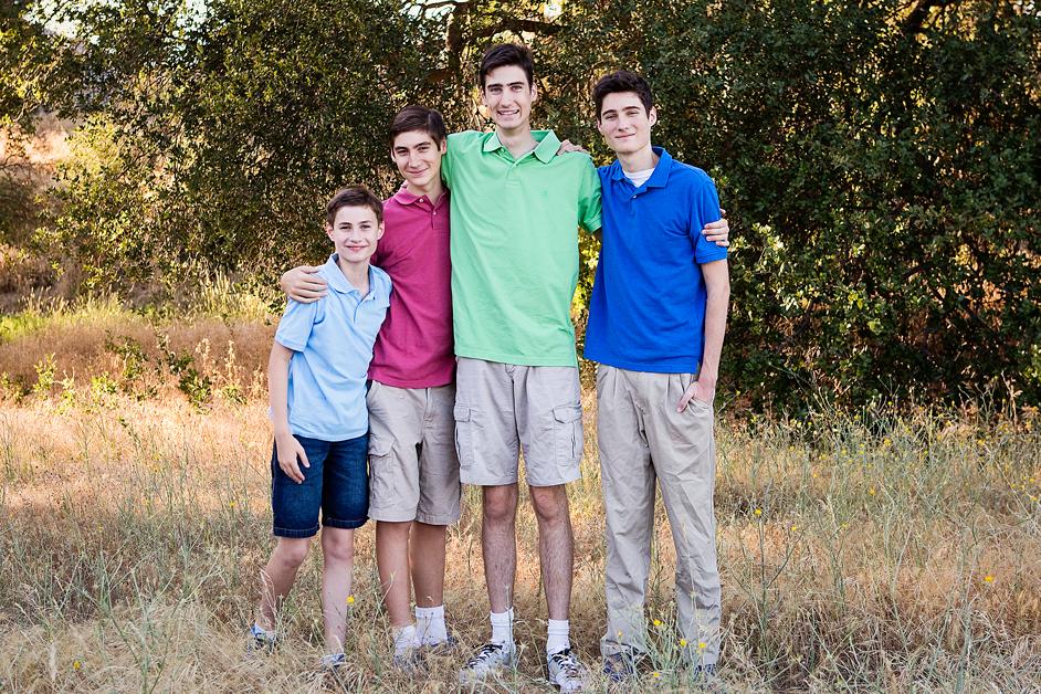 Four boys, Amy Wright Photography, Roseville Family Photographer