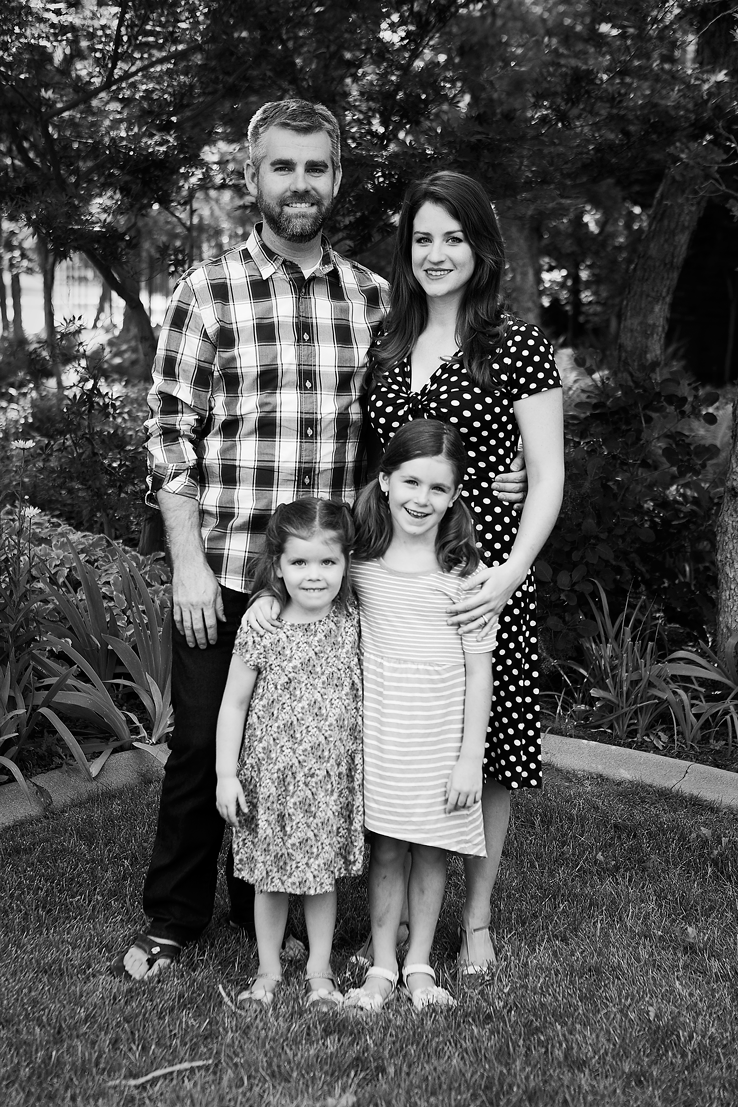 Family of four, Amy Wright Photography, Roseville Family Photographer
