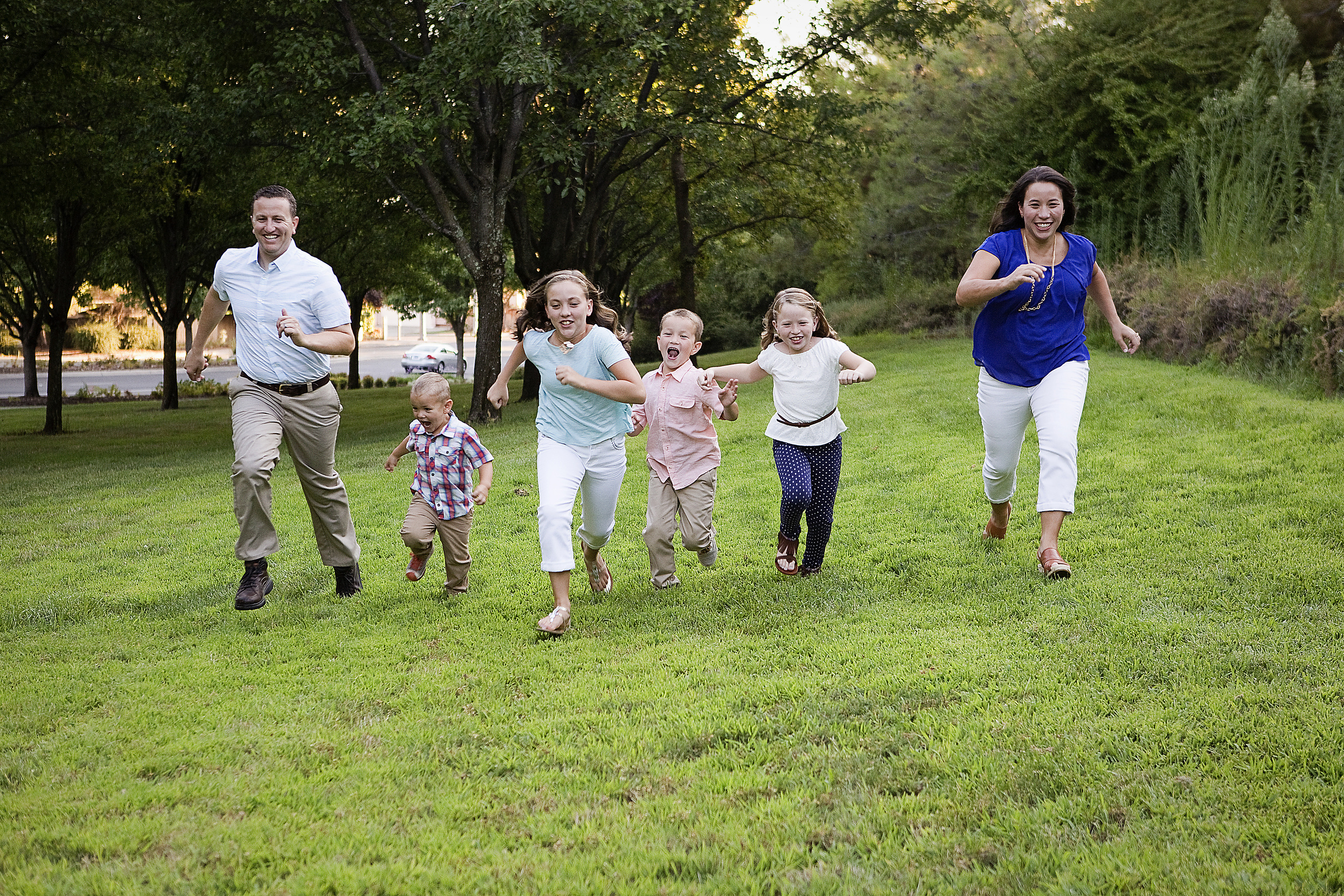 Family of Six, Roseville Family Photographer