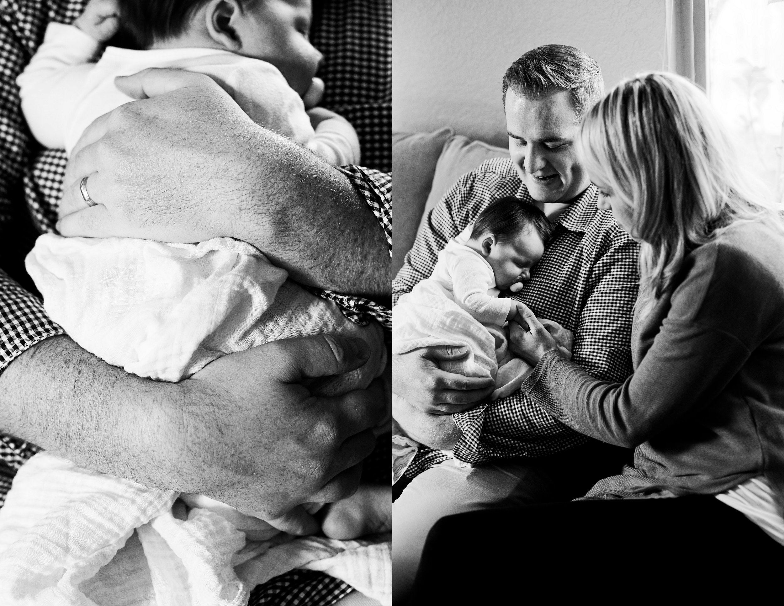 Family of Four, Newborn Baby, Amy Wright Photography, Roseville Family Photographer
