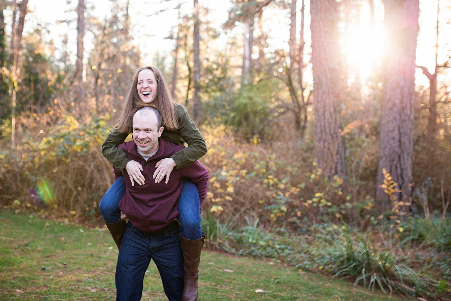 Couple Piggyback, Family of Five, Amy Wright Photography, Roseville Family Photographer