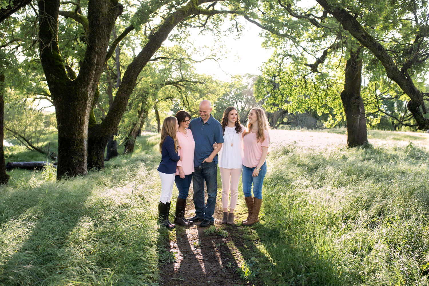 Roseville Family Photographer, Amy Wright Photography, Northern California, Family of Five