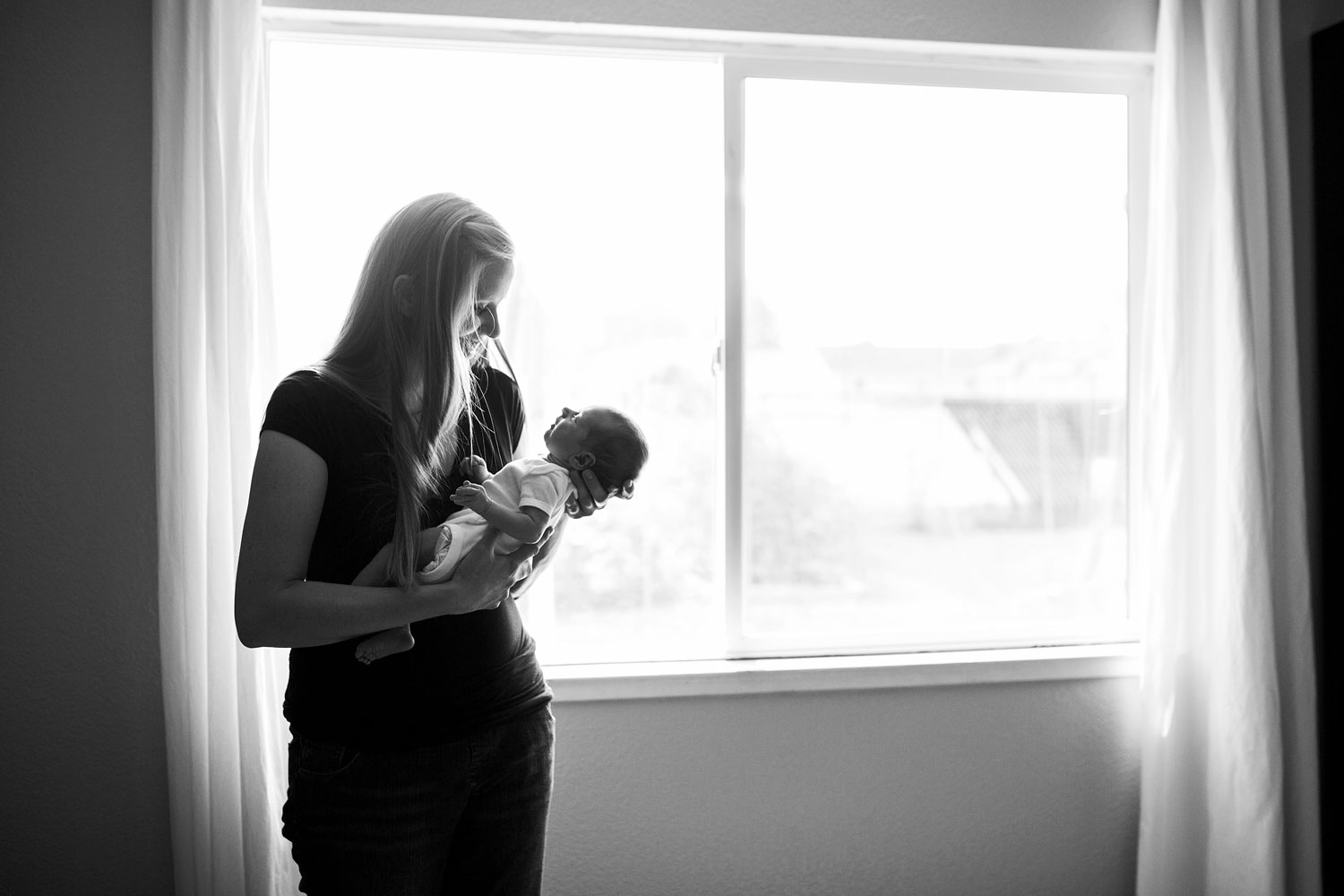 Mama and Baby, Sacramento Northern California Newborn Photographer, Amy Wright Photography