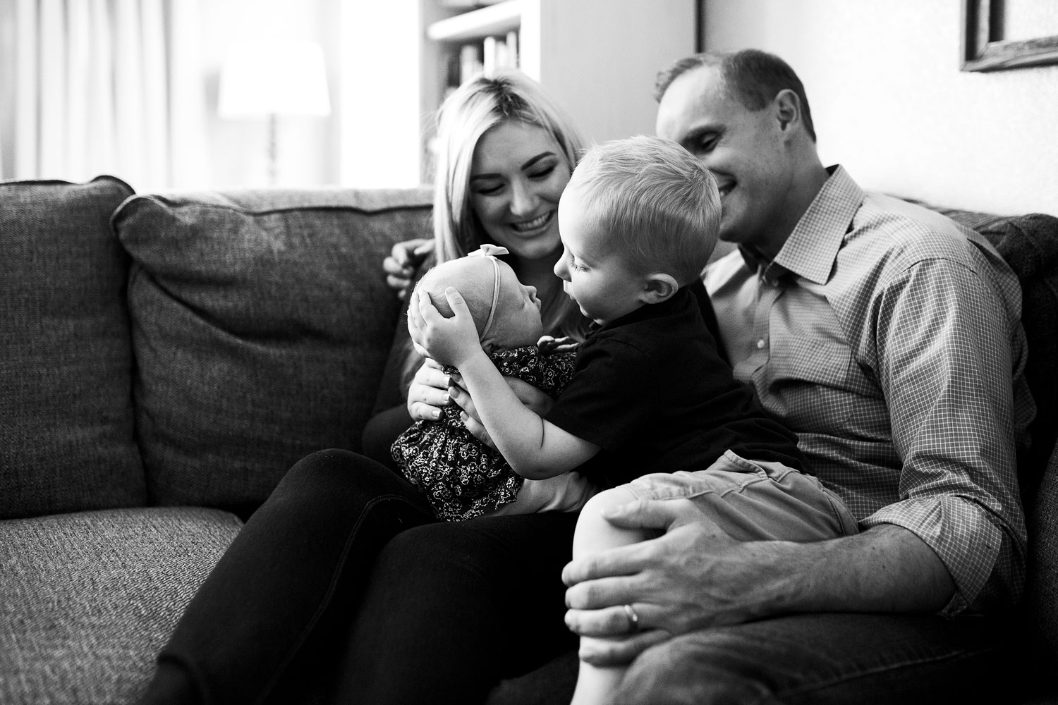 Family of 4, Lifestyle Newborn, Roseville California Photographer, Amy Wright Photography