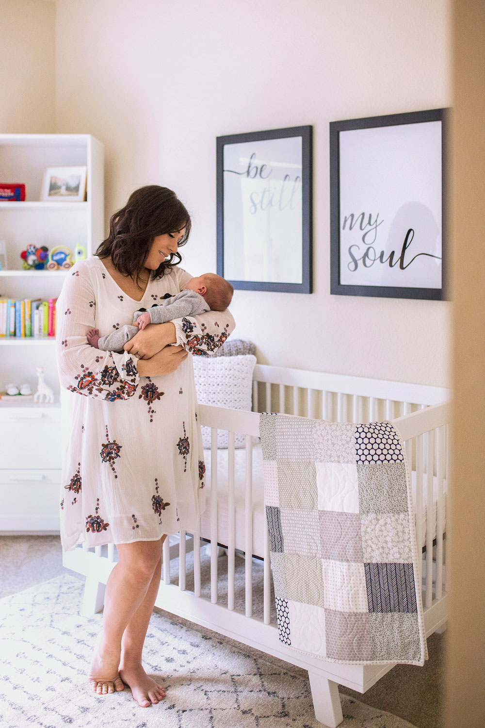 Mother and Baby, Roseville Newborn Photographer, Amy Wright Photography