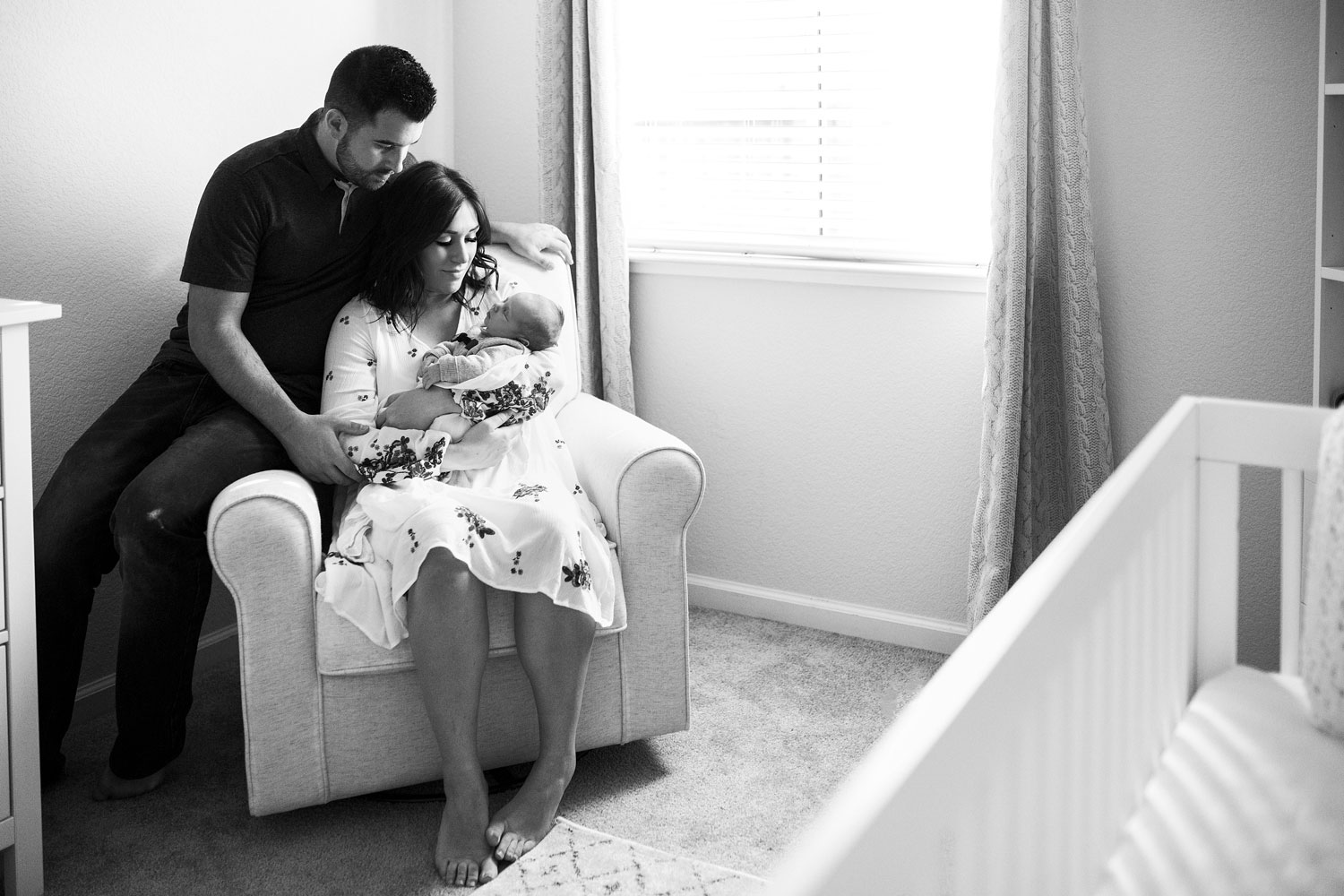 Family of Three, Roseville Newborn Photographer, Amy Wright Photography