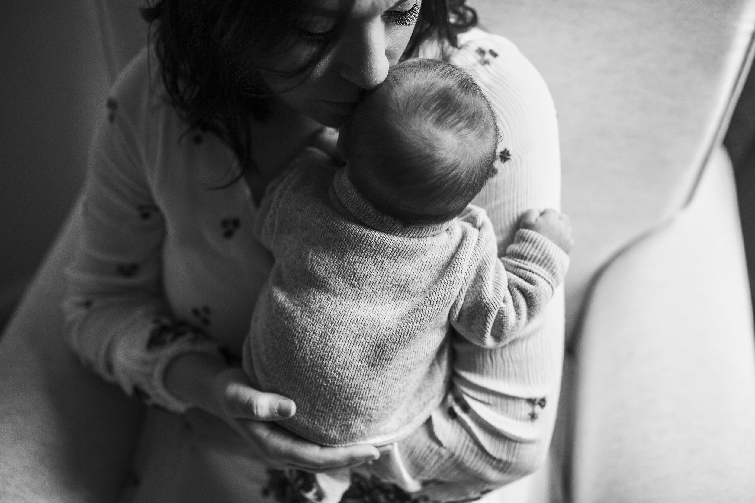 Mother and Baby, Amy Wright Photography, Roseville Newborn Photographer