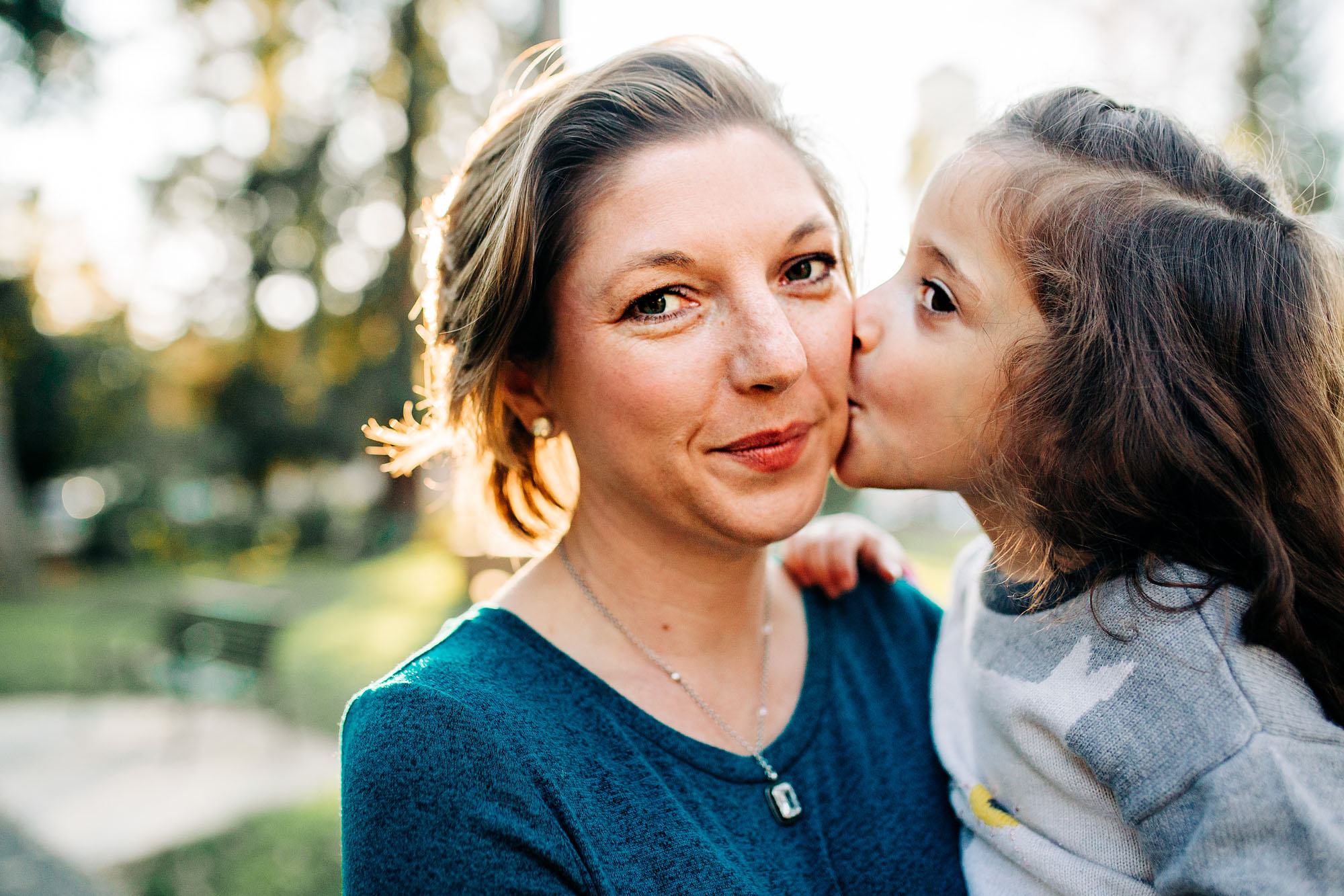 The connection between mother and daughter are captured during a lifestyle photo session with Amy Wright, a photographer based out of Roseville, California.