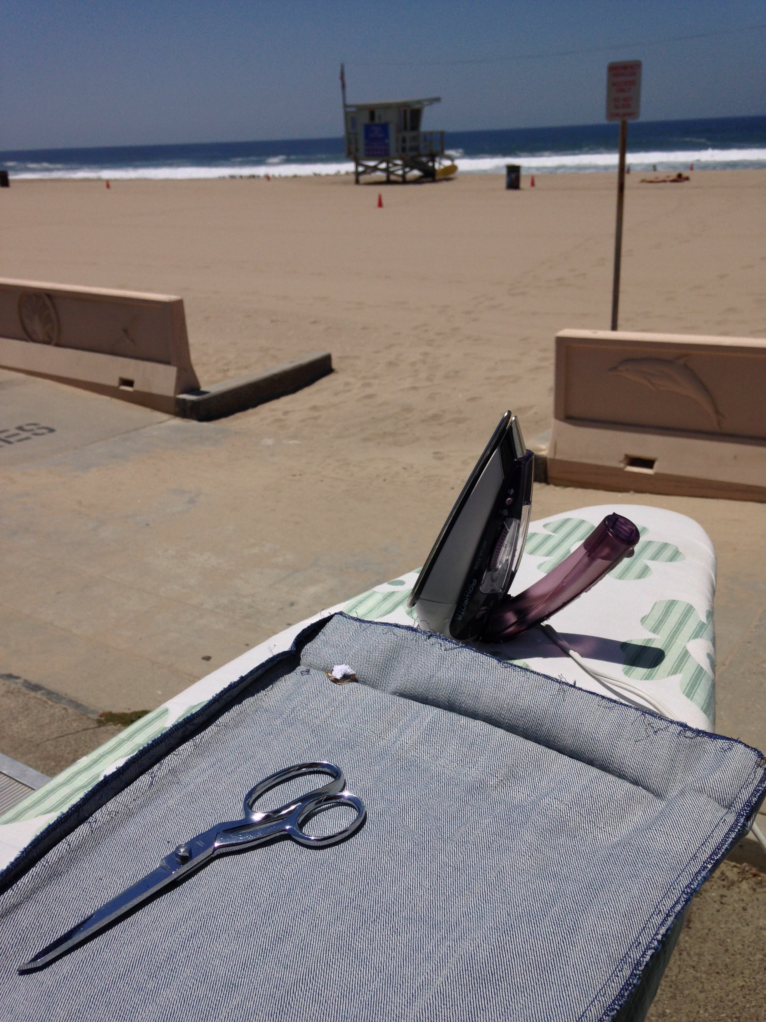 Sometimes working on location looks like this!