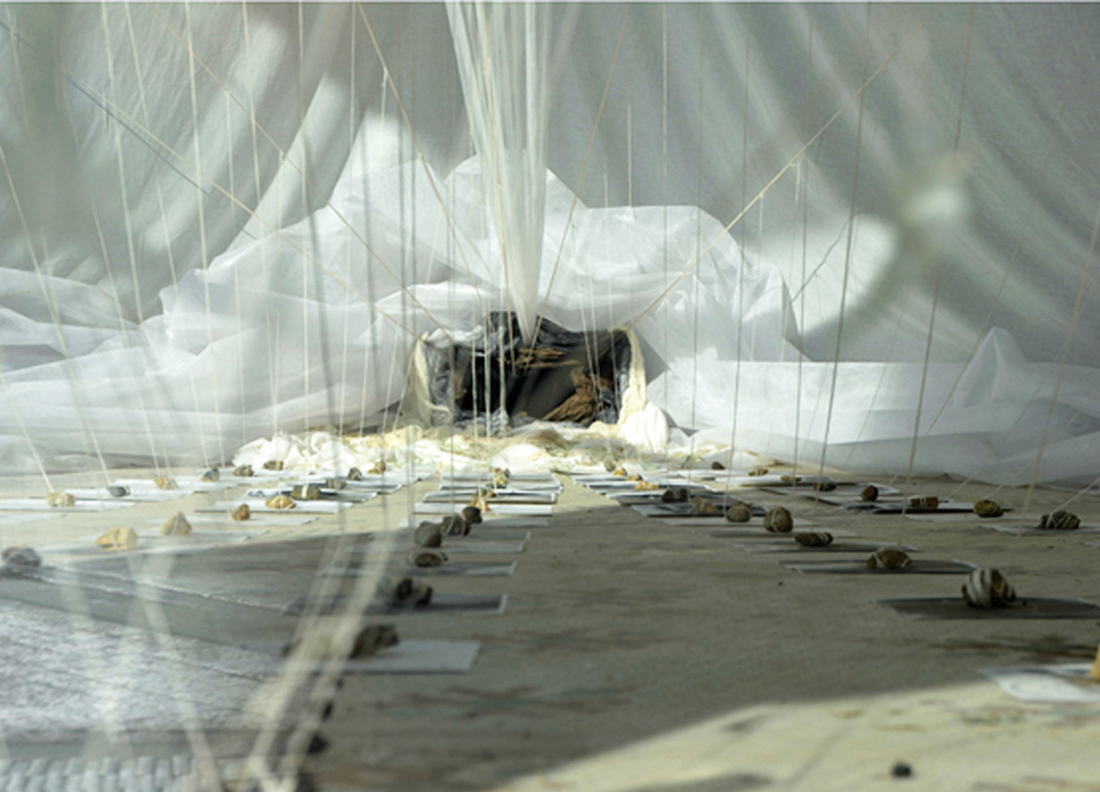 Untitled, 2013, Mixed media installation, Dimensions variable (ArtSpace, Raleigh, NC)