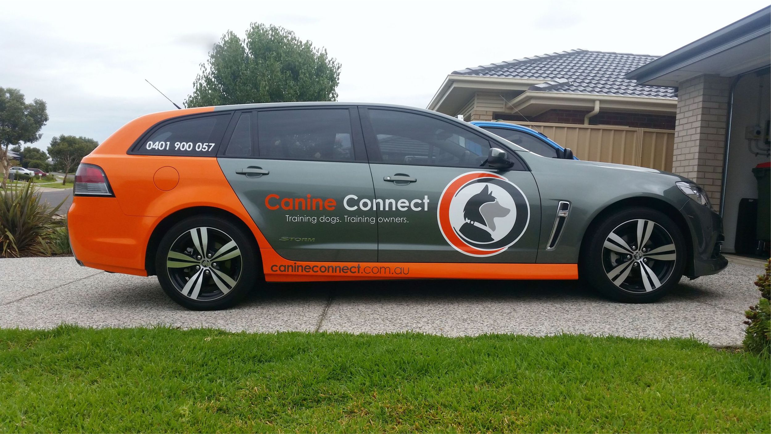 Canine Connect - SignColour - Sign Colour - Sign Adelaide - Signage Adelaide - Vehicle Signage Adelaide - Sign Lonsdale - Sign Aldinga - Sign Morphett Vale - Sign Victor Harbor - Vinyl wrap.jpg