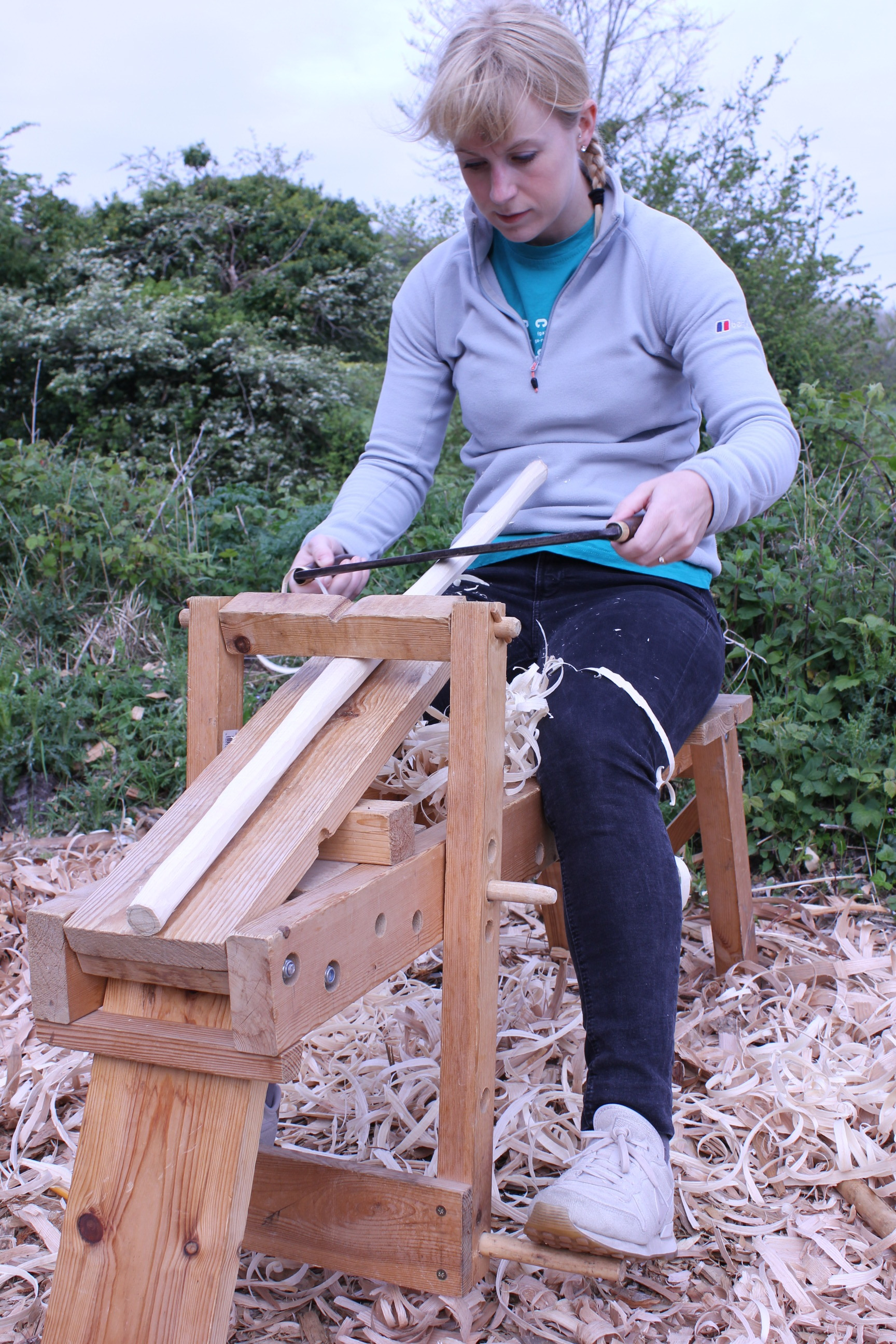 Lauren came with no previous woodworking experience - see her chair at the end of this post!