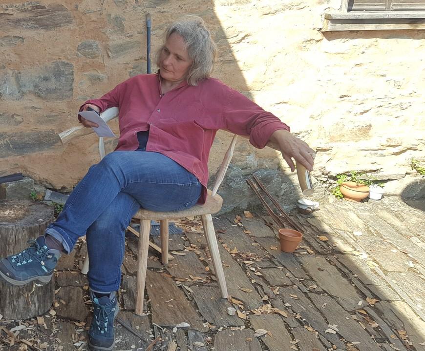 Kerstin Thomas - founder of Cerdeira Arts and Crafts Village