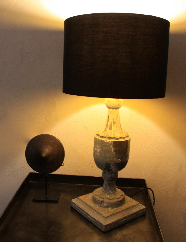 LAMPADA IN LEGNO FRANCESE