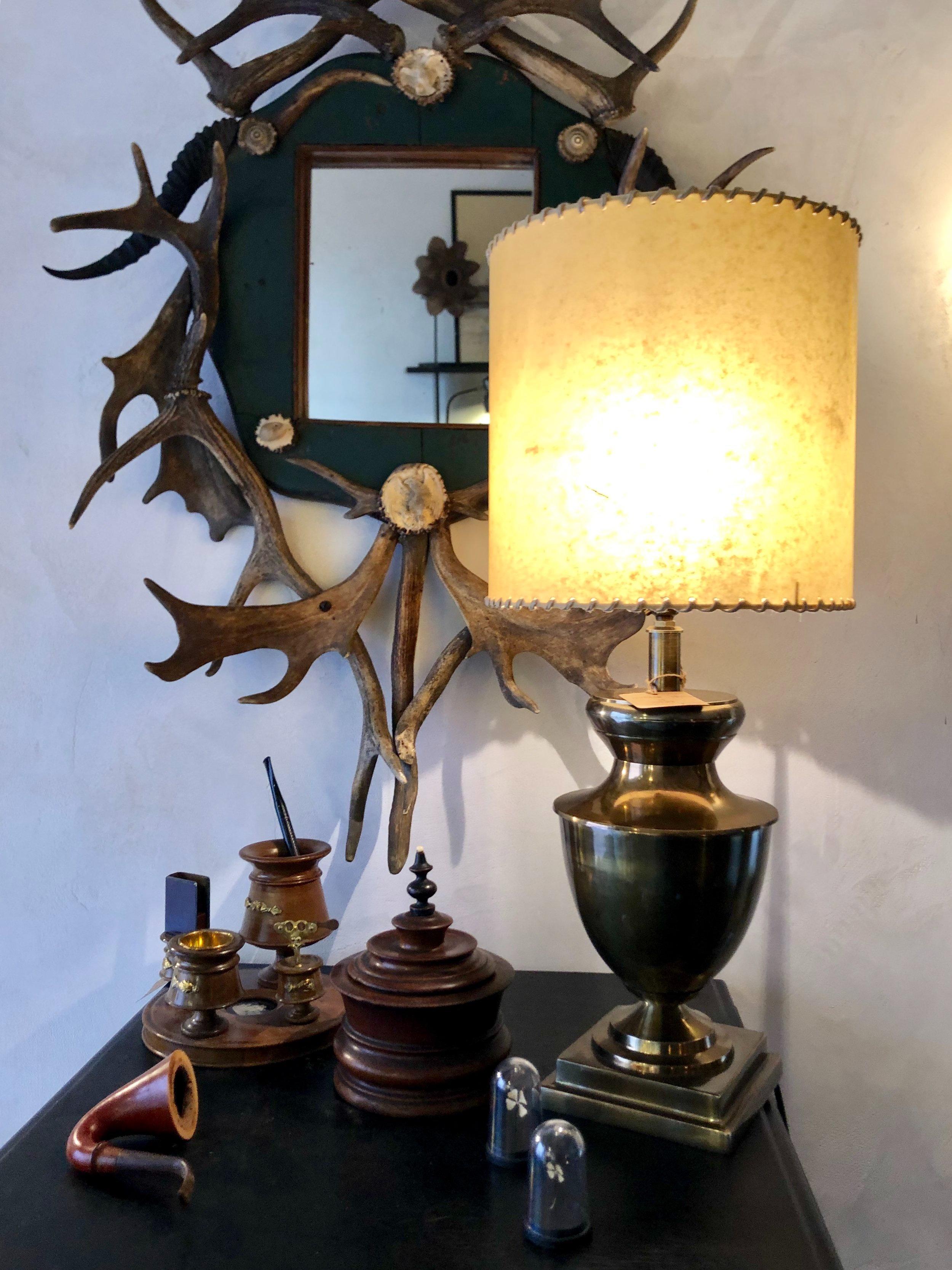 LAMPADA INGLESE IN OTTONE