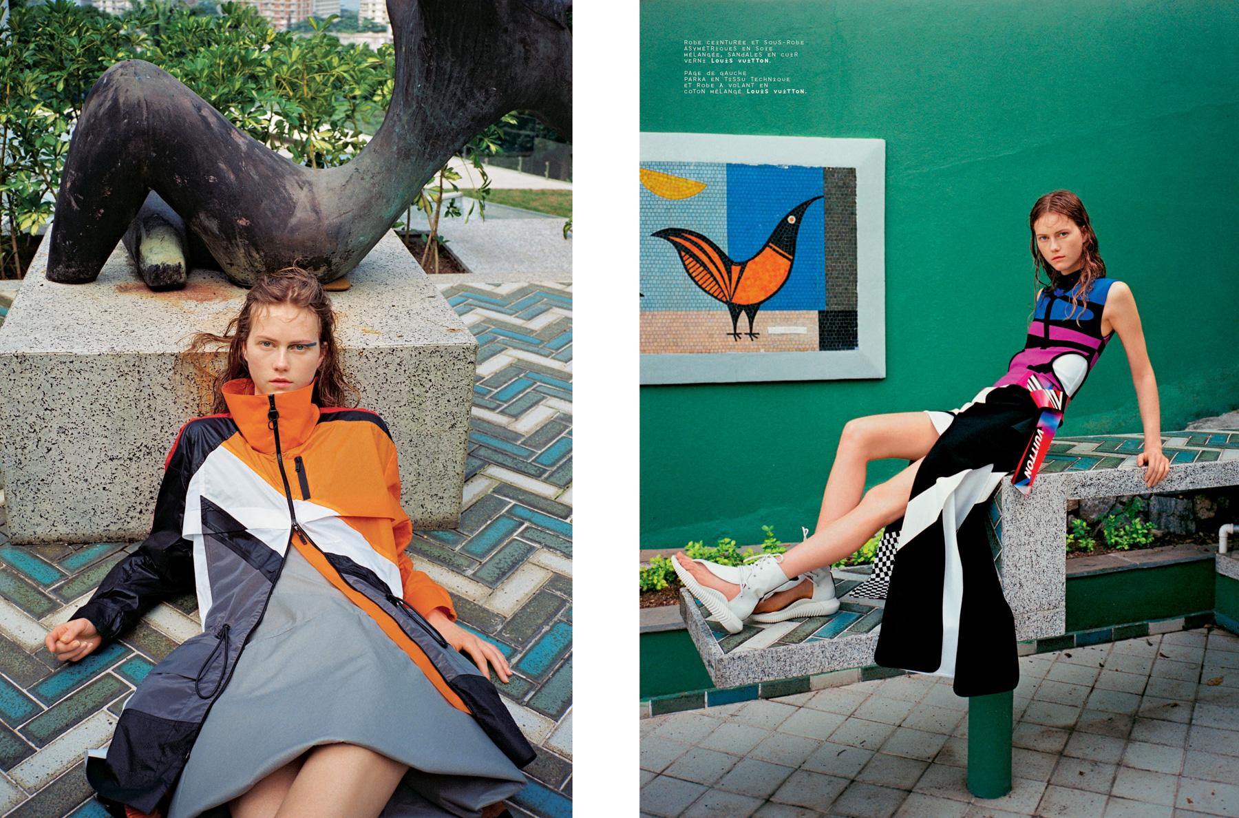 Louis Vuiton for Mixte Magazine
