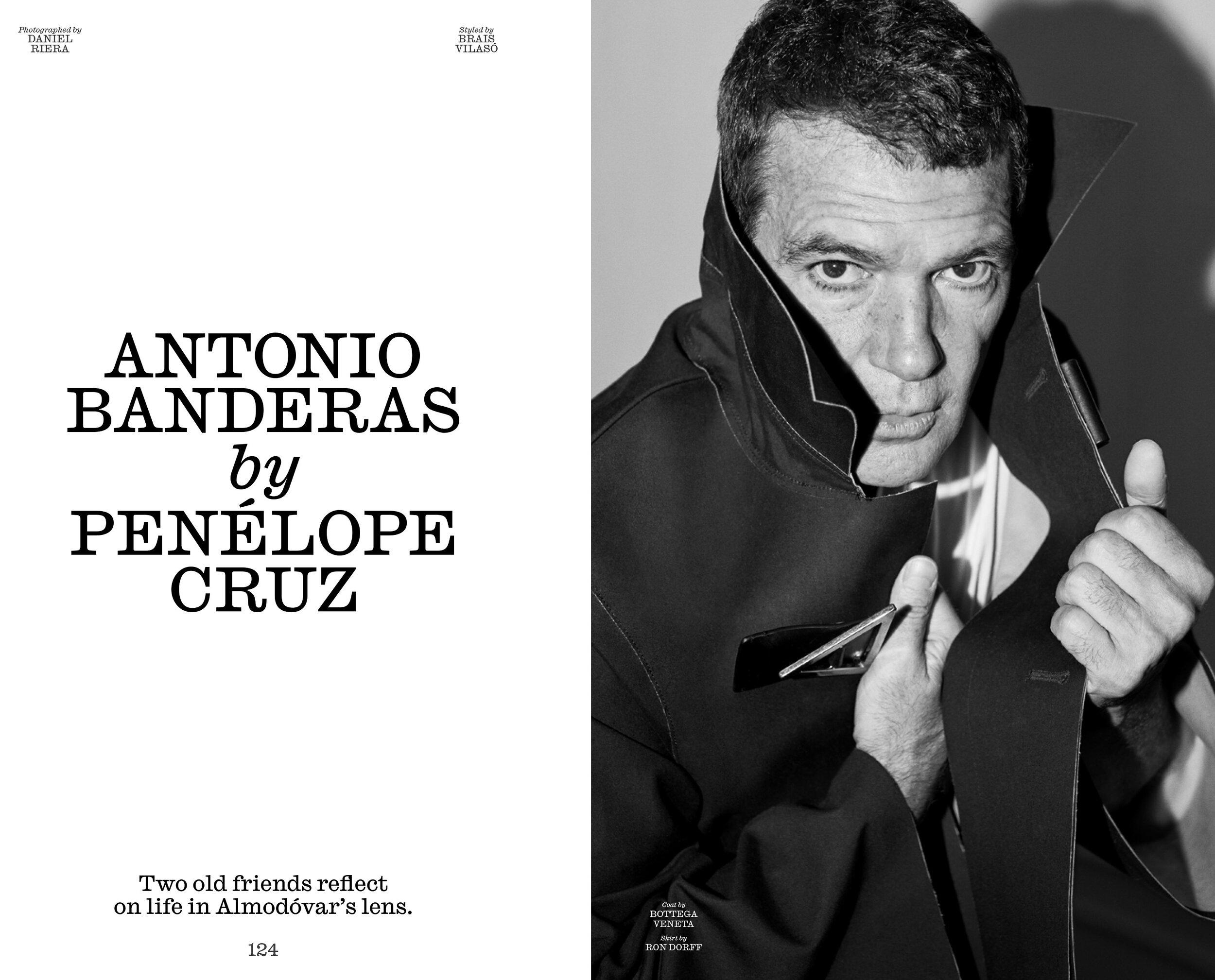 Antonio Banderas for Interview Magazine