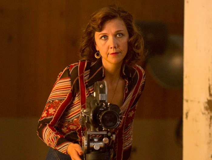 No one can stare like Maggie Gyllenhaal.