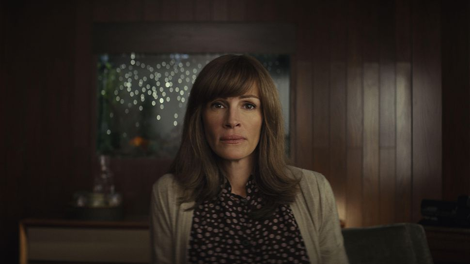 Julia Roberts as Heidi Bergman on  Homecoming , a new series streaming on Amazon Prime.