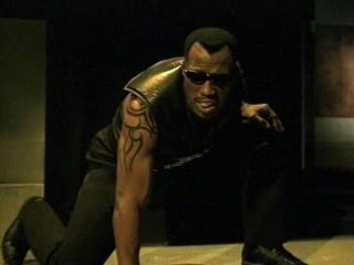 Wesley Snipes does not spend a single second  not  looking cool in the  Blade  franchise.