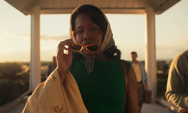Regina King sells this part of the movie so well it really doesn't matter how bad of an idea it is for her to go to Puerto Rico. Her performance convinces me that of course I would have done the same thing in her shoes. You can see in her eyes how unbearable it is to realize that there's nothing more she can do. She had to try.