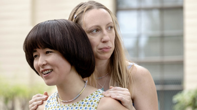 The littlest details like the friendship necklaces both are wearing here just exist in the realm of the show, unremarked but no less present. Pen15 is a first-class lesson in tiny decisions that collectively make the whole thing work.