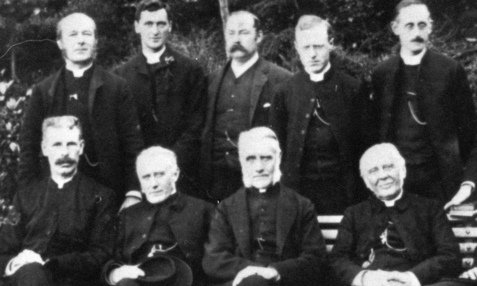 Previous Clergy & Wardens