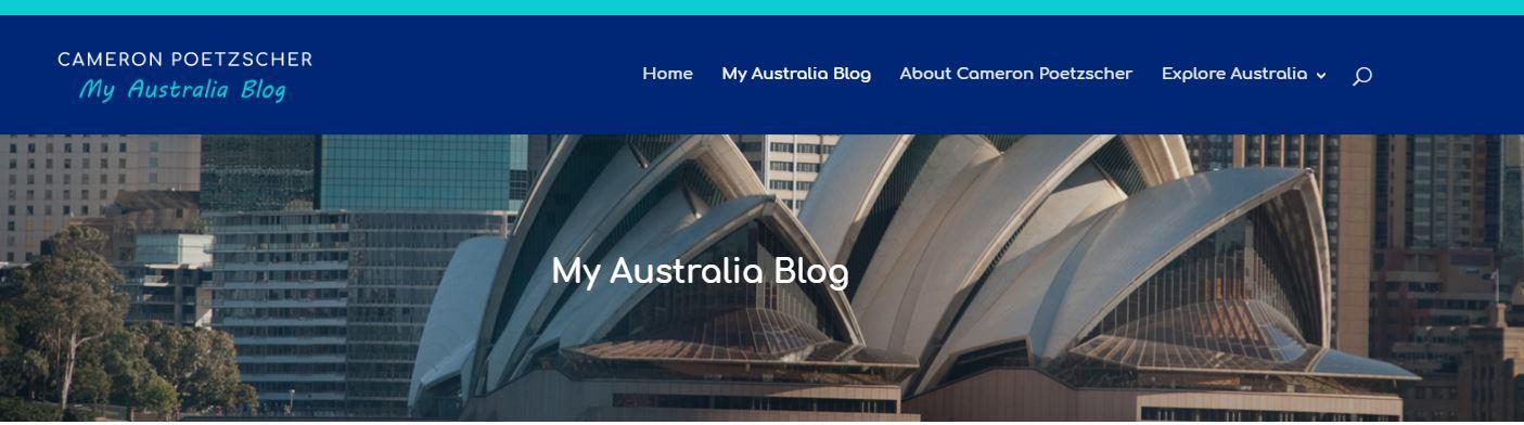 Cameron Poetzscher - My Australia Blog