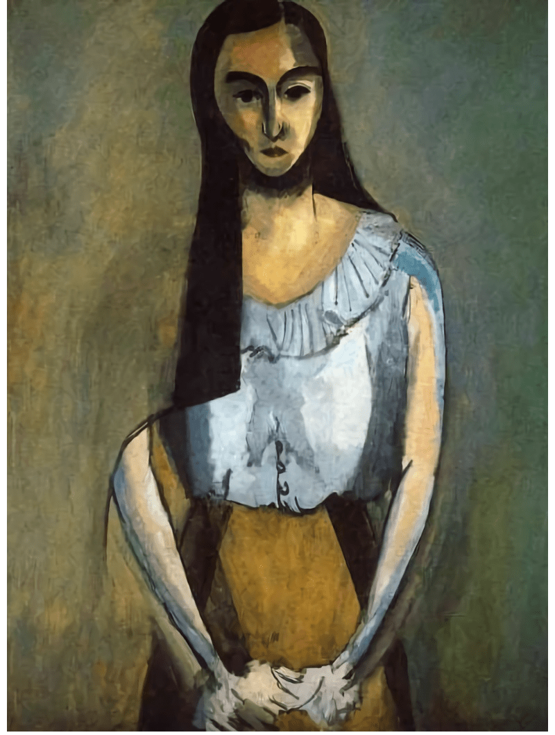 "Henri Matisse, ""The Italian Woman"" oil on canvas, 1916"