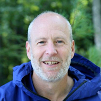 In 2009, Rev. Blackmer stepped away from a 25 year career in conservation to go to church for the first time, be baptized, attend Yale Divinity School, and become a priest. Currently Steve is chaplain at  Church of the Woods and founding executive director at  Kairos Earth .