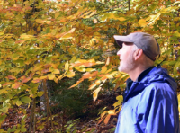 In 2009, Rev. Steve Blackmer stepped away from a 25 year career in conservation to go to church for the first time, be baptized, attend Yale Divinity School, and become a priest. Check out his pioneering work at: Church of the Woods / Kairos Earth .