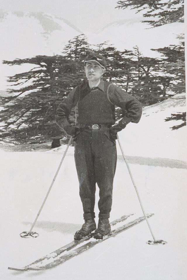 Skier, 1950.