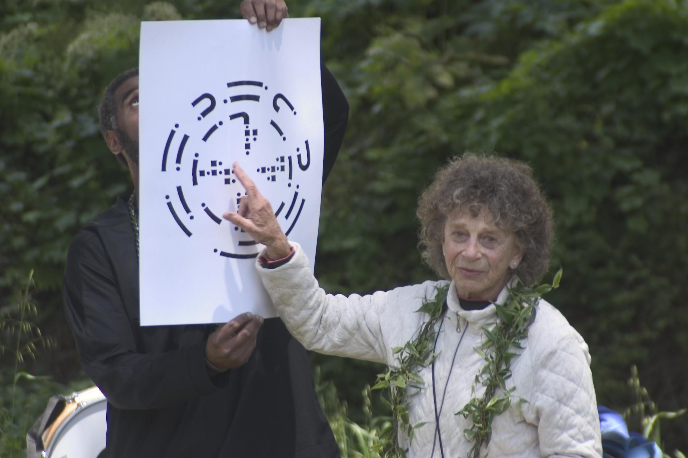 Anna Halprin, circa 2012 ( KALW.org ).