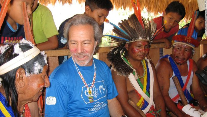 Mark Plotkin with a few Amazon shamans.
