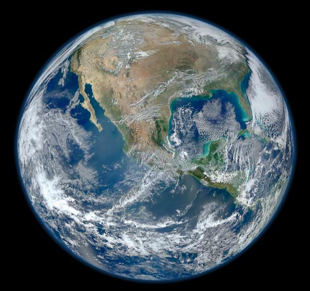 The resilience of life on Earth and the wellbeing of humanity depend upon a Whole-Earth approach to preserving a healthy biosphere. (NASA)