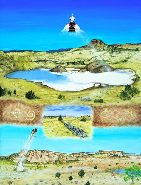 Larson Gasper,  Migration of Salt Mother , 2009.