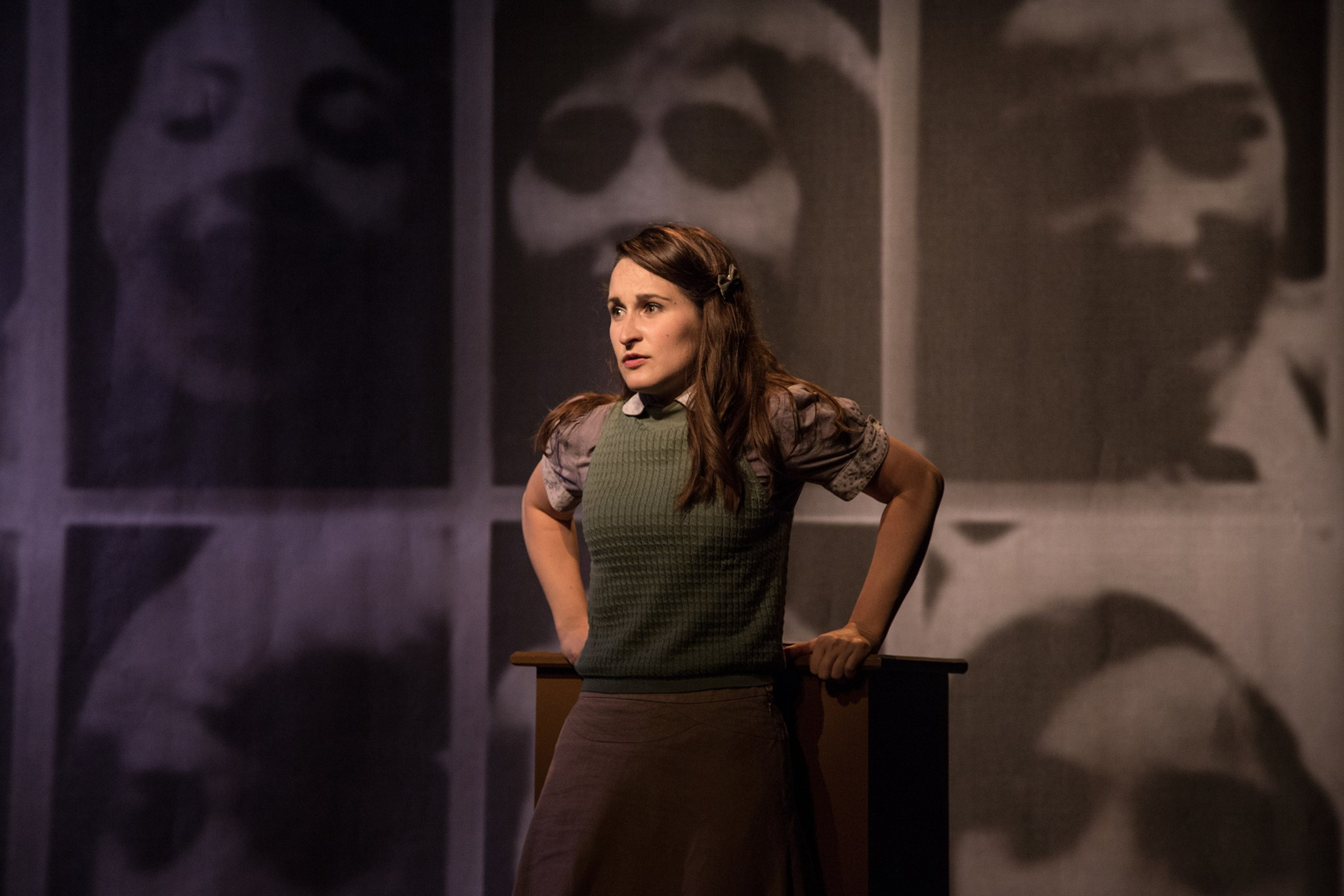 Anne Frank in the mono-opera THE DIARY OF ANNE FRANK at the Edinburgh Festival Fringe (2016) - Soprano Polly Ott is a fantastic communicator, simultaneously radiating the exuberance and vulnerability of a young teenage girl, with an alluring voice and perfect annunciation throughout. (Five Stars) Miranda Heggie, Herald ScotlandPolly Ott is outstanding in the role of Anne, and as the sole performer (apart from piano) of this work, gives us not only great vocals as the diary is read out in songs specially written for this work, but a fine acting performance. Tom King, Southside Advertiser