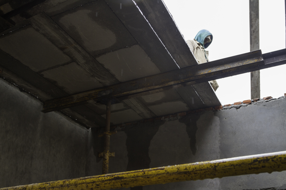 reinforced concrete precast roof slab by Cobute