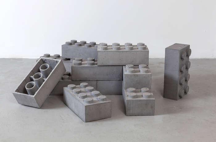Concrete Lego. Source:    TrendHunter