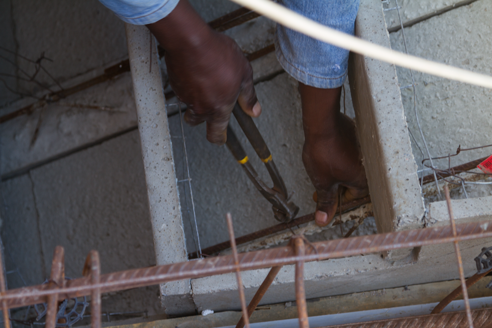steel fixing Cobute stairs